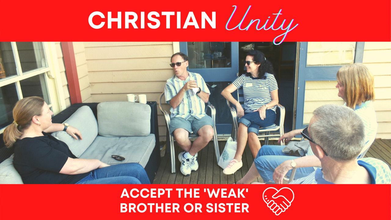 Accept The 'Weak' Sister or Brother