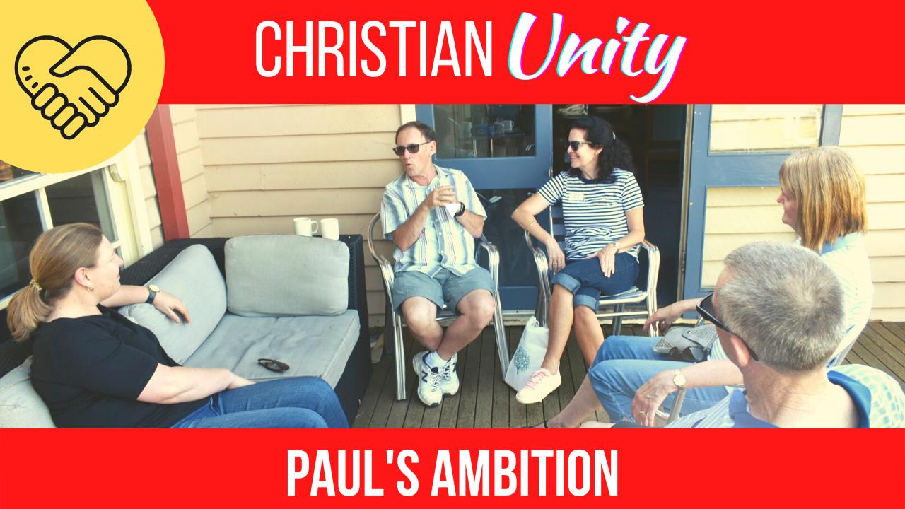Paul's Ambition